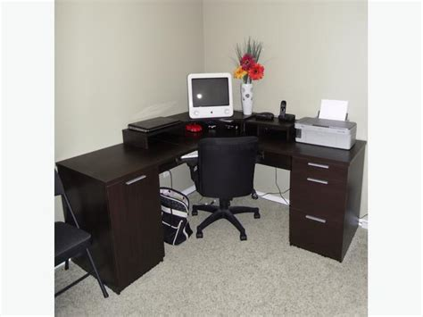 corner computer desk office chair for sale rural