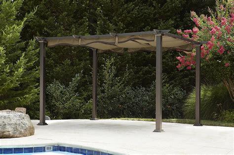 garden oasis pergola with canopy garden oasis pergola with canopy shop your way
