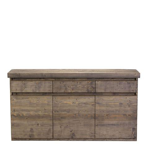 Wooden Sideboard Uk the arizona 3 door sideboard reclaimed wood sideboard