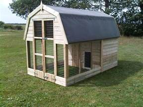 kennel dog house also garage ideas moreover with run cat pet home all sizes catered for tel