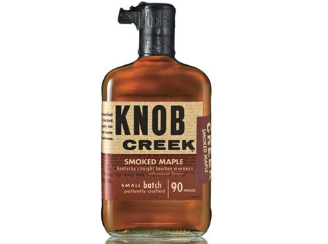 review knob creek smoked maple whiskey drink spirits