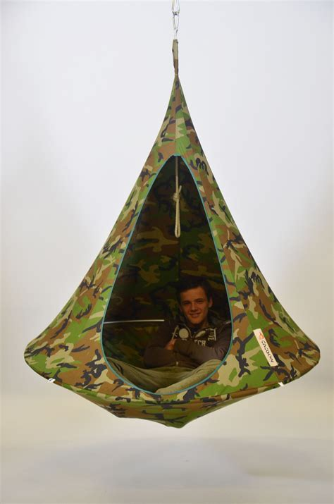 hanging armchair single hanging chair camouflage by cacoon