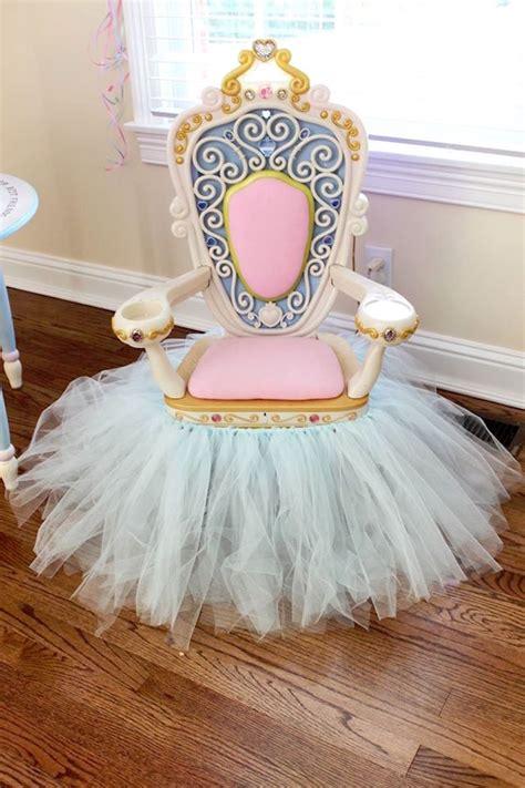 sweet 16 princess chair kara s ideas princess pink cinderella birthday