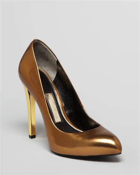 gold high heel pumps boutique 9 pointed toe platform pumps fiorensa3 high heel