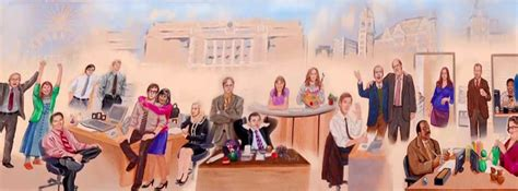 The Office Mural by Pam S New Mural Dundermifflin