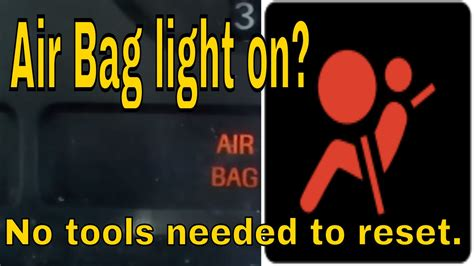 Airbag Light Reset by How To Reset Ford Mustang Airbag Light Doovi