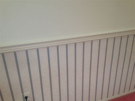 faux wainscoting with paint diy chalkboard wall nutrition by shoshana