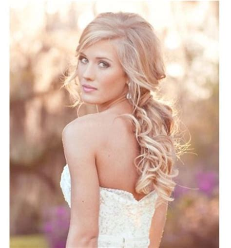 bridal hairstyles loose curls big loose curls wedding hair hairapy pinterest