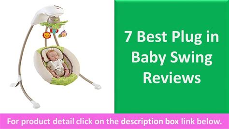 best plug in baby swing 7 best plug in baby swing reviews cradle and portable