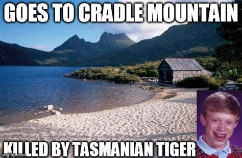 Tasmania Memes - bad luck holiday imgflip