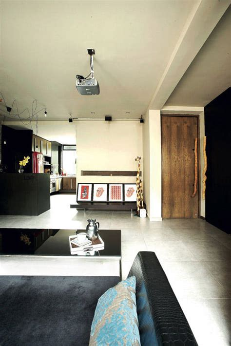 room hdb flats  stylish  creative home