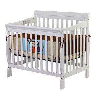 3 In 1 Mini Crib On Me On Me Aden Convertible 3 In 1 Mini Crib White Baby Baby Furniture Cribs