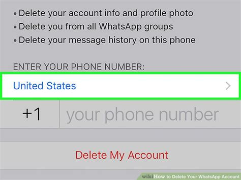 how to delete your whatsapp account 12 steps with pictures