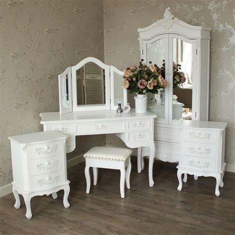 white bedroom table furniture bundle antique white closet dressing table