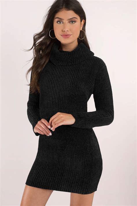 Sweater Turtleneck black dress turtleneck dress sleeve dress