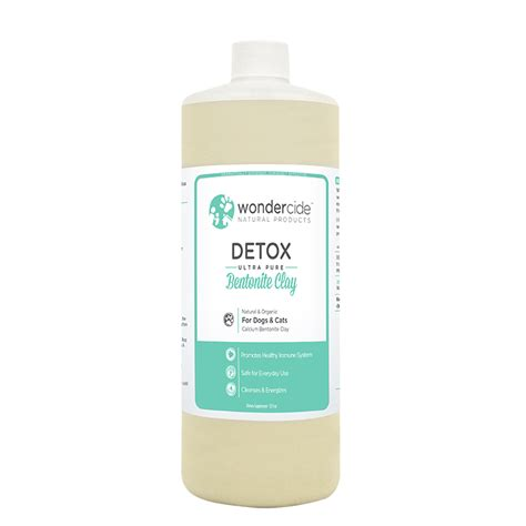 Clay Detox Lotion Test by Wondercide Products Detox Ultra Bentonite