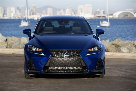 lexus is f sport 2017 2017 lexus is review carrrs auto portal