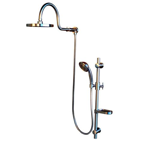 retrofit bathtub pulse showerspas aquarain retrofit shower system with hand shower and shower head