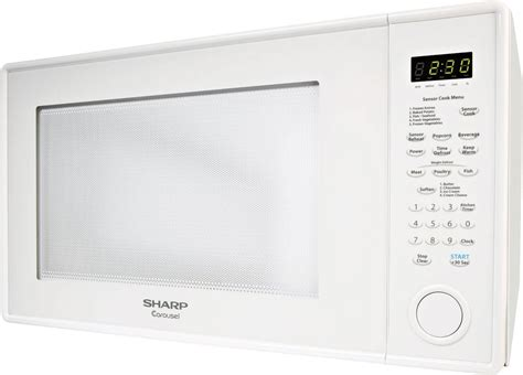 Sharp Healsio Cook 2 4 Liter 800 Watt Knh 24 Knh24 sharp r659yw 2 2 cu ft countertop microwave oven with 1 200 watts removable glass turntable