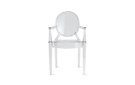 Louis Ghost Stool by Louis Ghost Chair Design Within Reach