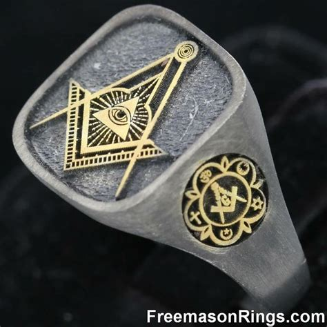 Handmade Masonic Rings - 270 best masonic rings images on