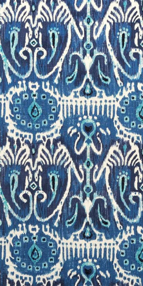 Navy Blue Ikat Curtains Designs Suburban Home Cerva Navy Fabric Ikat Navy Turquoise Blue Ikat Decor Navy