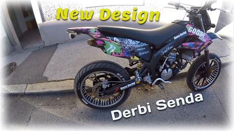 dekor moped derbi senda dekor goose racing motostyles