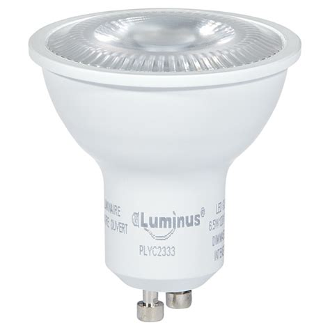 Luminus Led Gu10 Dimmable Light Bulb 6 5w Led Dimmable Gu10 Bulb Bright White Rona