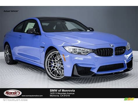 bmw blue colors 2017 yas marina blue metallic bmw m4 coupe 116757506