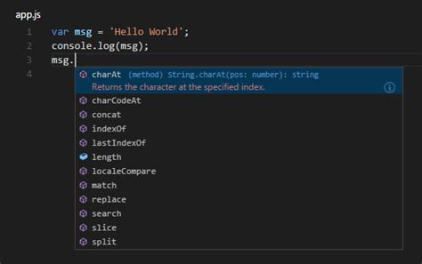 simple node js hello world build node js apps with vs code