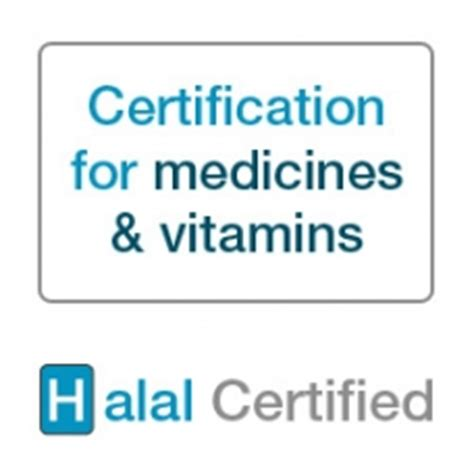 certifications halal vitamins for men and women halal certification for medicines vitamins