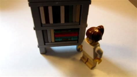 lego tutorial how to build a bookshelf