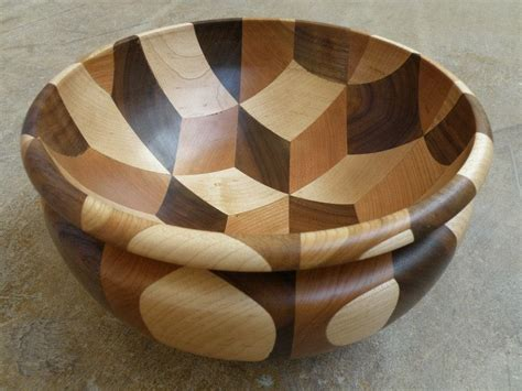 3d woodworking woodturning tumbling bowl
