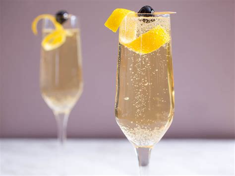 french 75 garnish 4 festive bubbly riffs on the french 75 cocktail