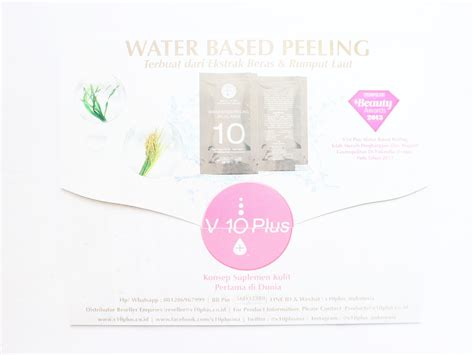 V10 Plus Quasi Serum Sachets review v10 plus water based peeling whitening serum series ell s diary