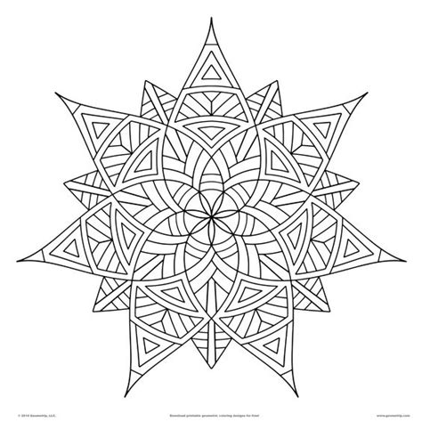 cute geometric coloring pages geometrip com features high quality geometric coloring
