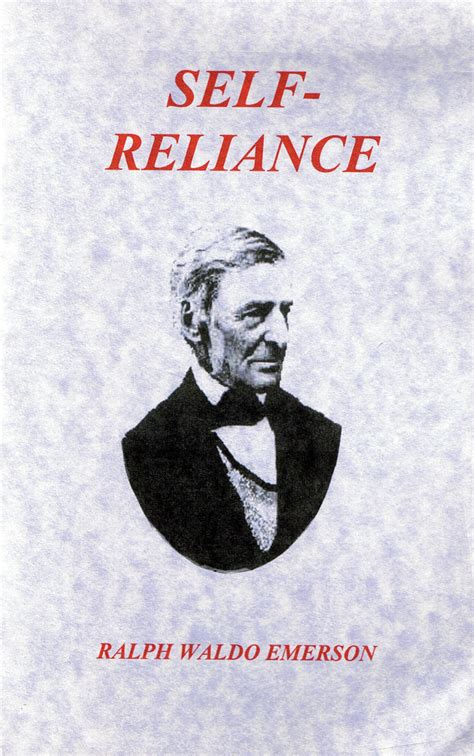 self reliance books emerson self reliance quotes quotesgram