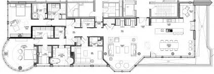 penthouse apartment floor plans luxury penthouse in downtown montreal by ren 233 desjardins