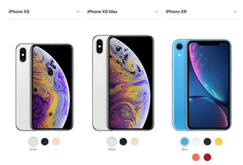 iphone xs xs max and xr comparison which one should you buy