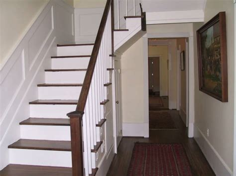 How To Refinish Stair Banister by Wood Stairs Installed Or Refinished