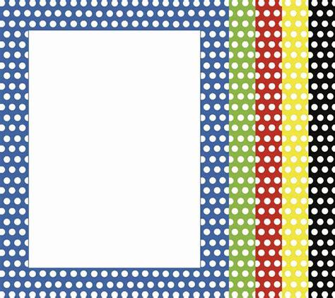 printable polka dot border paper polka dots computer paper top5506