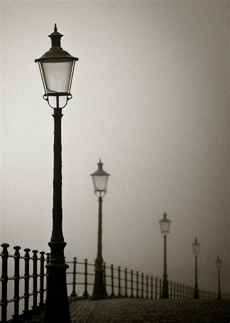 Home Decor Lights Online by Street Lamps Photograph By Dave Bowman