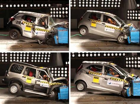 rating of cars in india zero rating for indian cars in crash test global