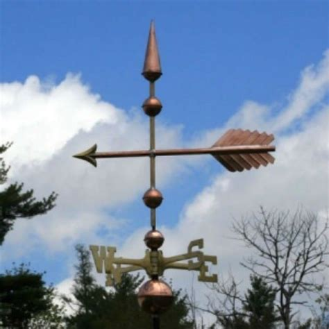 Weathervanes And Cupolas Usa by Copper Quot Fancy Arrow Quot Weathervane Made In Usa 167 Ebay