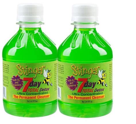 Detox Thc In 3 Weeks by 2 Stinger 7 Day Permanent Detox 2 1 Week Bottles 8oz Each