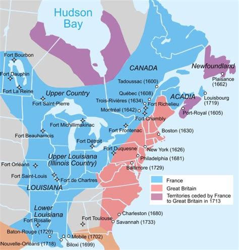 pattern of french settlement in north america chapter information ap us history