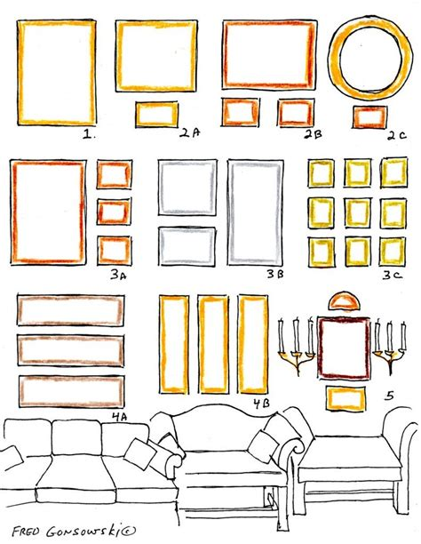 arranging pictures over sofa 243 best images about home photo wall display on pinterest