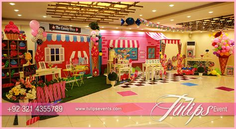themed birthday party supplies online pakistan candyland theme party ideas in pakistan tulips event