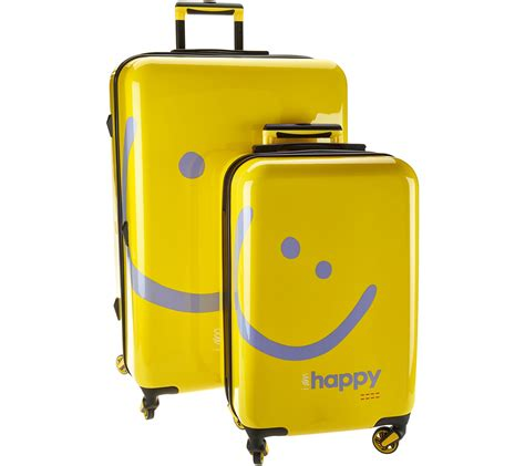 Contemporary Home Decorations by Peace Love World Two Piece Hardside Luggage Set Page 1