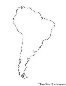 America Map Outline Printable by South America Stencil Free Stencil Gallery